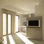 Il progetto prevede l'utilizzo di due colori: il bianco e il grigio.
