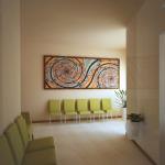 Progetto:visione generale della sala di attesa