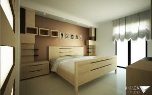vista camera da letto