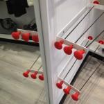 Ferro daldato - Tondini in fetto - Copriferro rossi per un tocco di industriale...