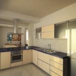 Progetto di cucina_open space