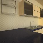 Progetto di cucina_rivestimento Mutina
