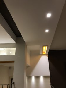 realizzazione_dettaglio illuminazione e cartongesso